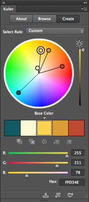How To Use Kuler To Find And Share Color Themes In Photoshop Cs6