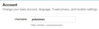 How to Choose a Good Twitter Username - dummies