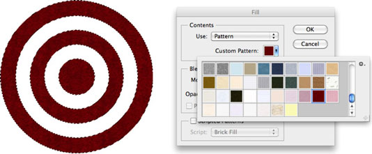 How to Apply a Preset Pattern in Photoshop CS6 - dummies