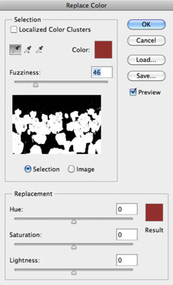 Image result for photoshop replace color dialogue