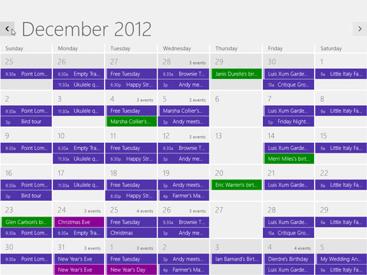 how to add appointments to the windows 8 calendar app dummies