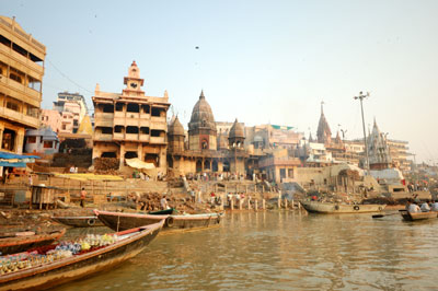 To Hindus, the Ganges (or <i></noscript>Ganga,</i> in Hindi) is the most sacred river. [Credit: &#169;iStockph&#8221;/></p> <div class=