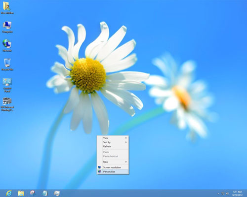 Windows 8 screensaver images for How to choose windows