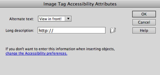How to Insert Images in Dreamweaver - dummies