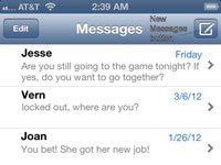 How to Send Text Messages on Your iPhone 5 - dummies