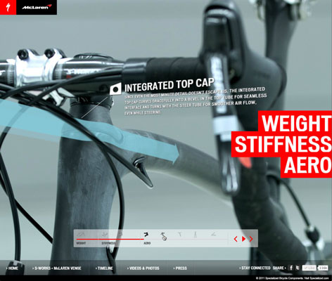 [Credit: © Specialized Bicycle Components ]