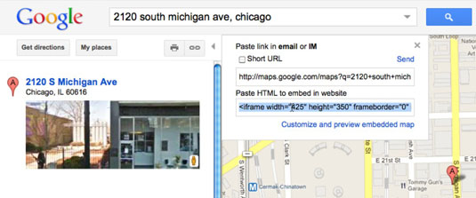 How to Embed a Google Map with iFrame - dummies