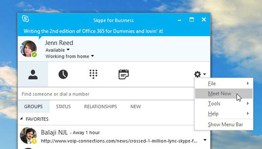 how to add skype meeting in outlook