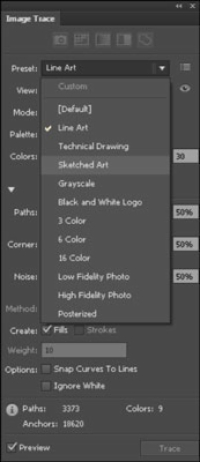 How to Use Image Trace in Adobe Illustrator CS6 - dummies