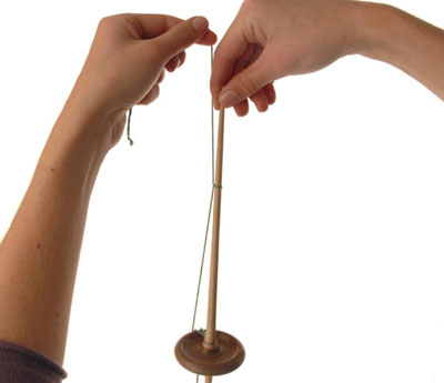 How to Start Spinning on a Hand Spindle - dummies