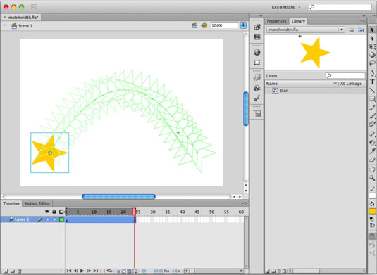 How to View Several Animation Frames at Once in Adobe Flash