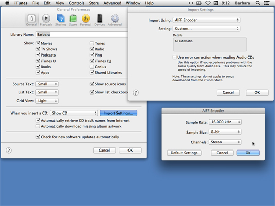 Understanding Audio File Compression Formats with iTunes