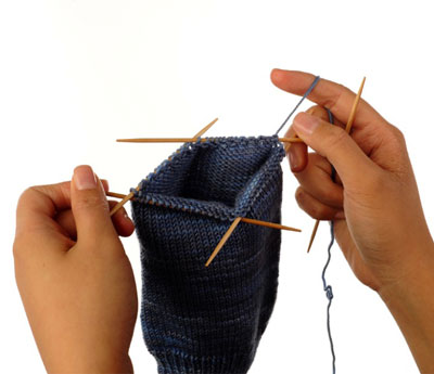How To Knit A Gusset Heel Dummies