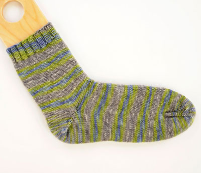 The Basic Toe Up Sock Pattern Dummies