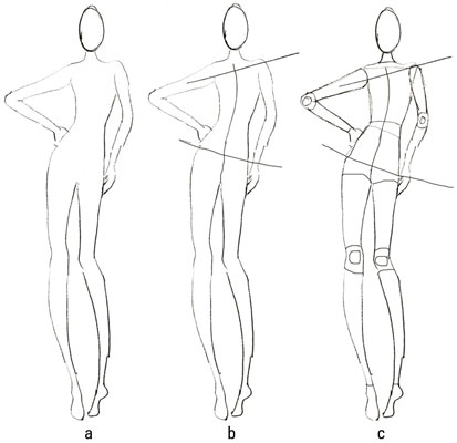Fashion Drawing: How to Sketch a Basic Figure - dummies