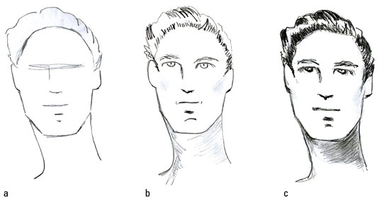 How to Draw Hairstyles for Male Fashion Figures - dummies