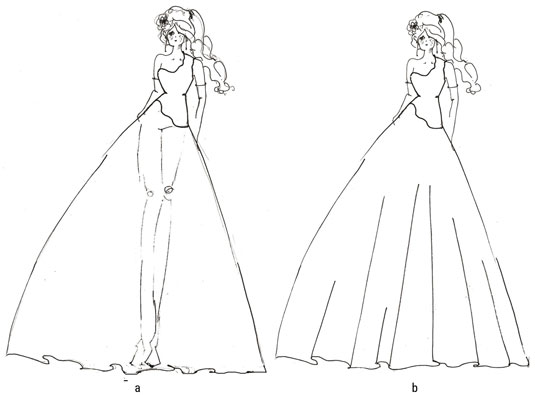 How to Draw Gorgeous Fashion Gowns - dummies