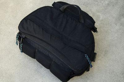 A camera bag designed to fit around the waist.