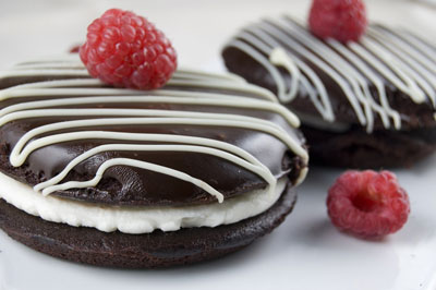A fingerprint on chocolate can ruin an otherwise delicious image. [Credit: Focal length: 55mm, Shut