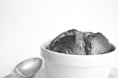 Desaturation on a food photo is quite unusual — hello, black and white! [Credit: Focal length