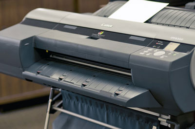 A plotter or large format printer is the tool to use for high-end photos.