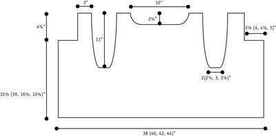 Verticality vest schematic.
