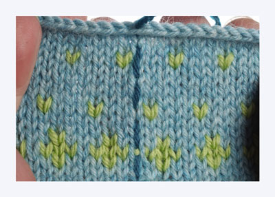 Knitting Patterns For Dummies : How to Crochet Steeks - dummies