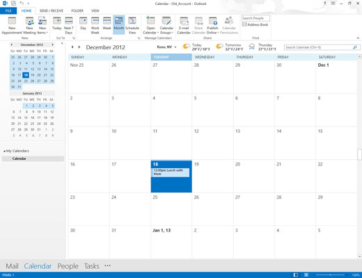 how to create multiple calendars in outlook 2013 dummies