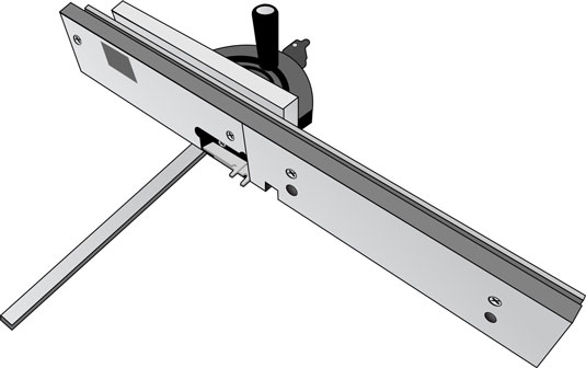 Using a finger joint jig and a stacked dado blade on your table saw saves time and ensures that cut