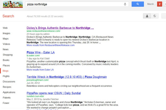 Refining your search to blogs brings up interesting results.