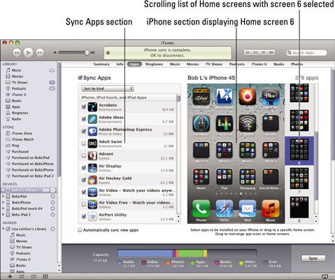 Organize my apps iphone
