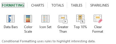 How to Use the Excel 2013 Quick Analysis Tool - dummies