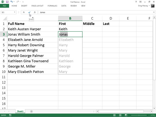 Benefits of using Flash Fill in Excel