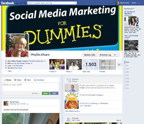 how to create a personal profile on facebook dummies