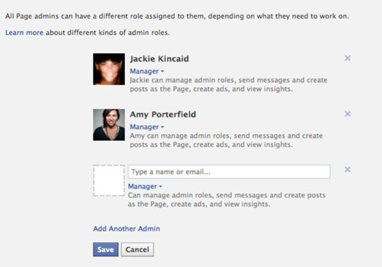 How to Add Admins to Your Facebook Marketing Page - dummies