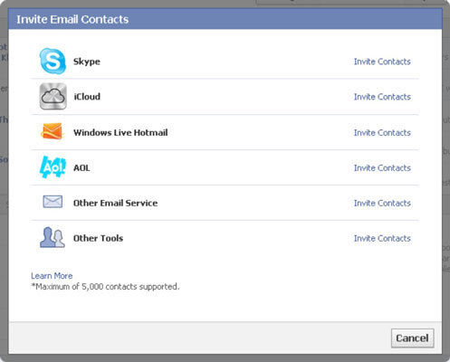 How to Invite E-mail Contacts to Your Facebook Business Page - dummies