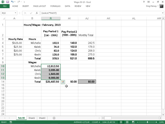 how to build array formulas in excel 2013 dummies