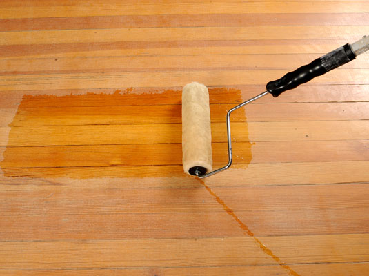 how to stain and seal hardwood floors - dummies