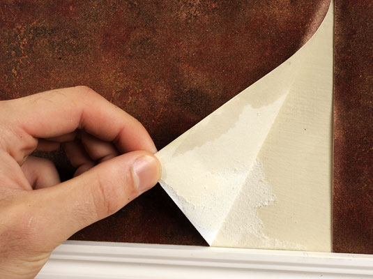 How To Take Off Wallpaper By Dry Stripping Dummies