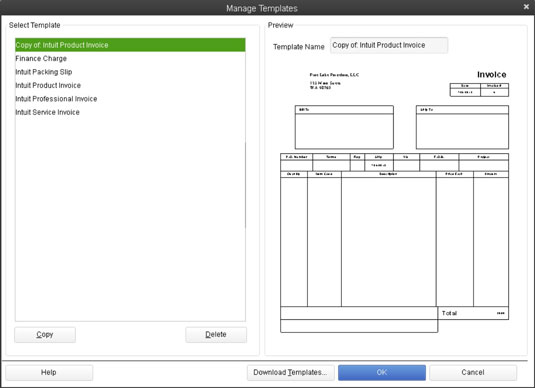 Easy Invoice Customizations In QuickBooks Dummies - Charge invoice sample