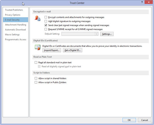 how to get a digital id for outlook