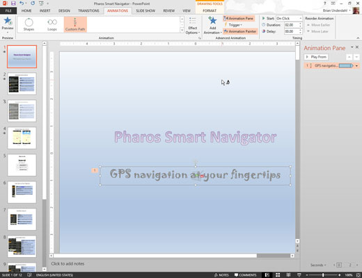How to Use the PowerPoint 2013 Animation Painter - dummies