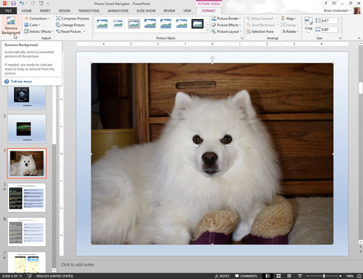 how to remove picture backgrounds in powerpoint 2013 dummies