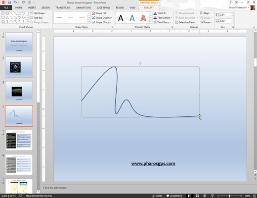 Drawing Lines In Powerpoint : How to draw a curved line or shape in powerpoint