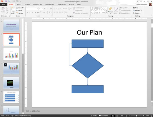 How to Create Flowcharts in PowerPoint 2013 - dummies