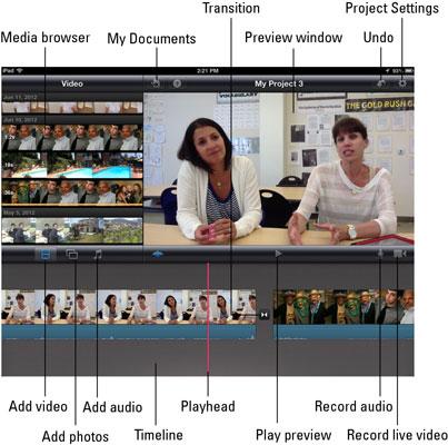 Edit an Educational Video with iMovie iPad App - dummies