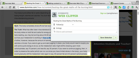 How to Create Class Notes with Evernote iPad App - dummies