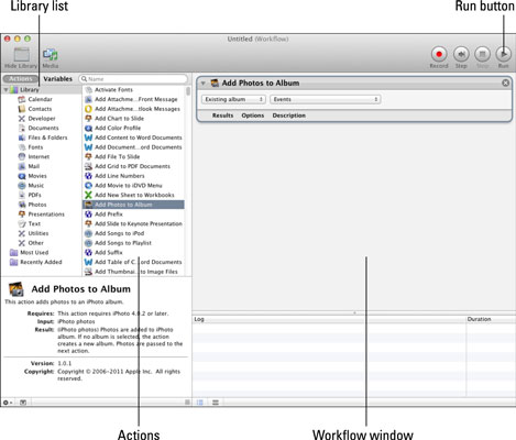 How to Use MacBook's Automator - dummies