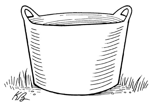 Drawing of a basket.