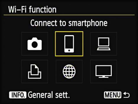 How to Enable Wireless on Your Canon EOS 6D - dummies